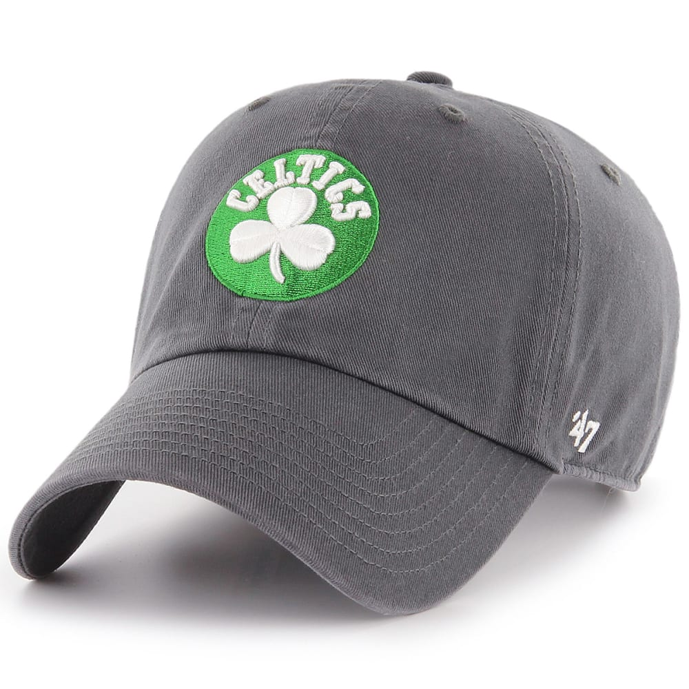 BOSTON CELTICS Men's '47 Clean Up Adjustable Cap - CHARCOAL