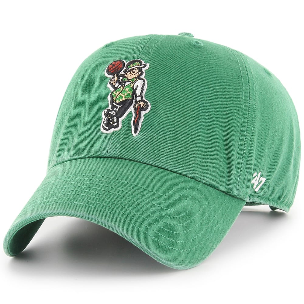 Boston Celtics Men's Logo Man '47 Clean Up Adjustable Cap