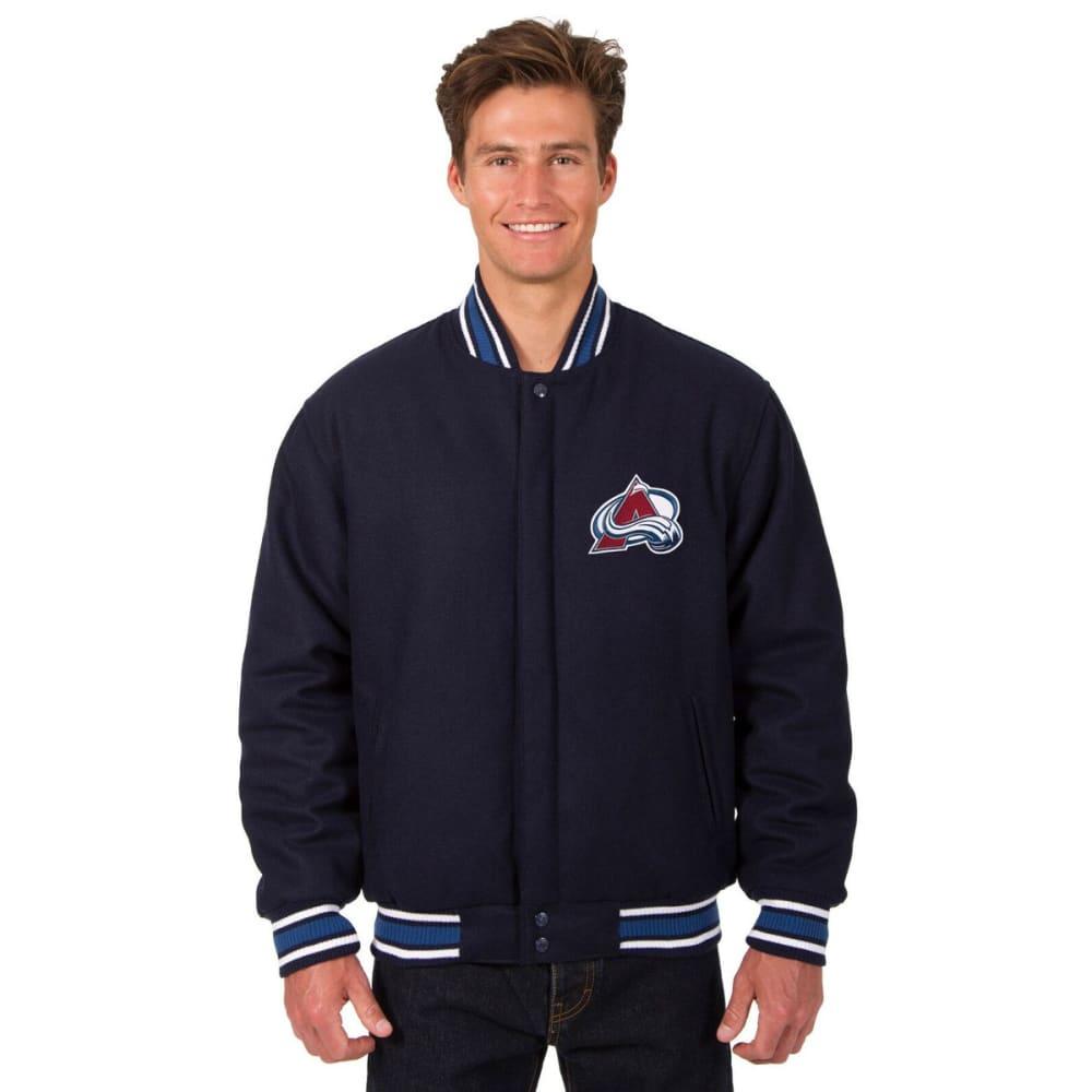 COLORADO AVALANCHE Men's One Logo Reversible Wool Jacket S