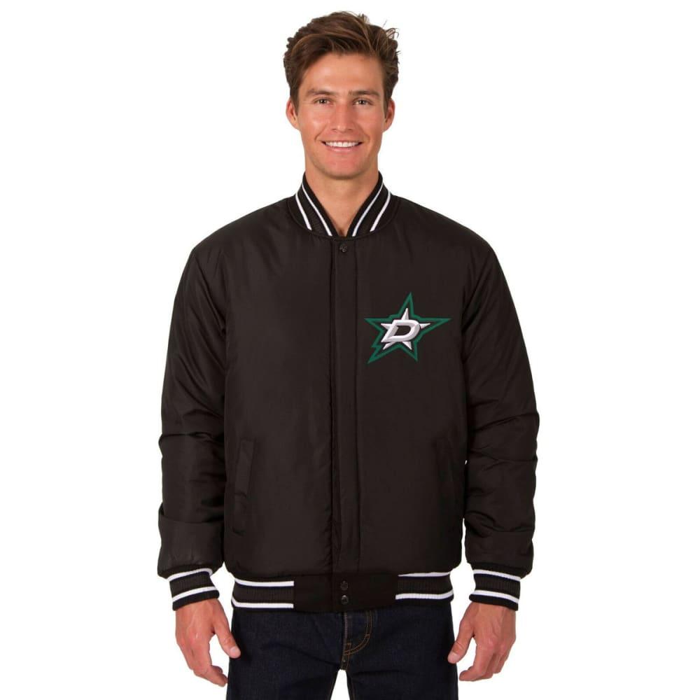 DALLAS STARS Men's One Logo Reversible Wool Jacket - BLACK