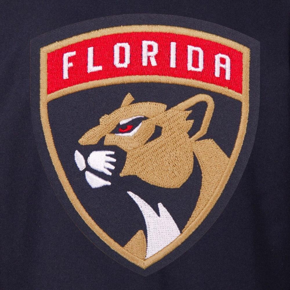FLORIDA PANTHERS Men's One Logo Reversible Wool Jacket - NAVY