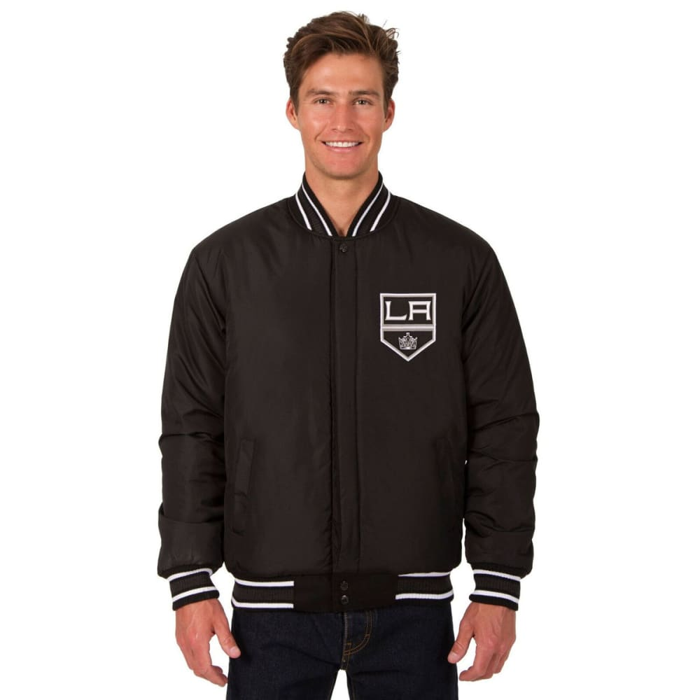 LOS ANGELES KINGS Men's One Logo Reversible Wool Jacket - BLACK