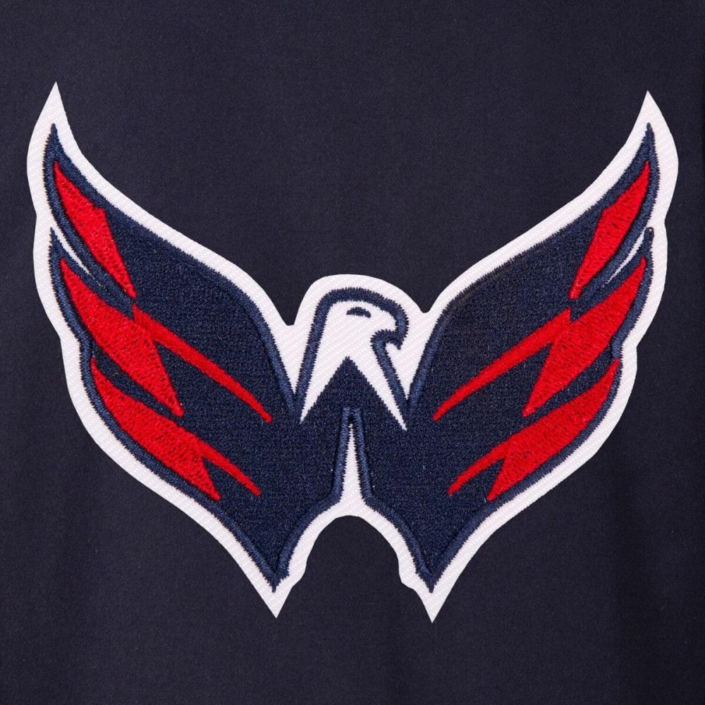 WASHINGTON CAPITALS Men's One Logo Reversible Wool Jacket - NAVY