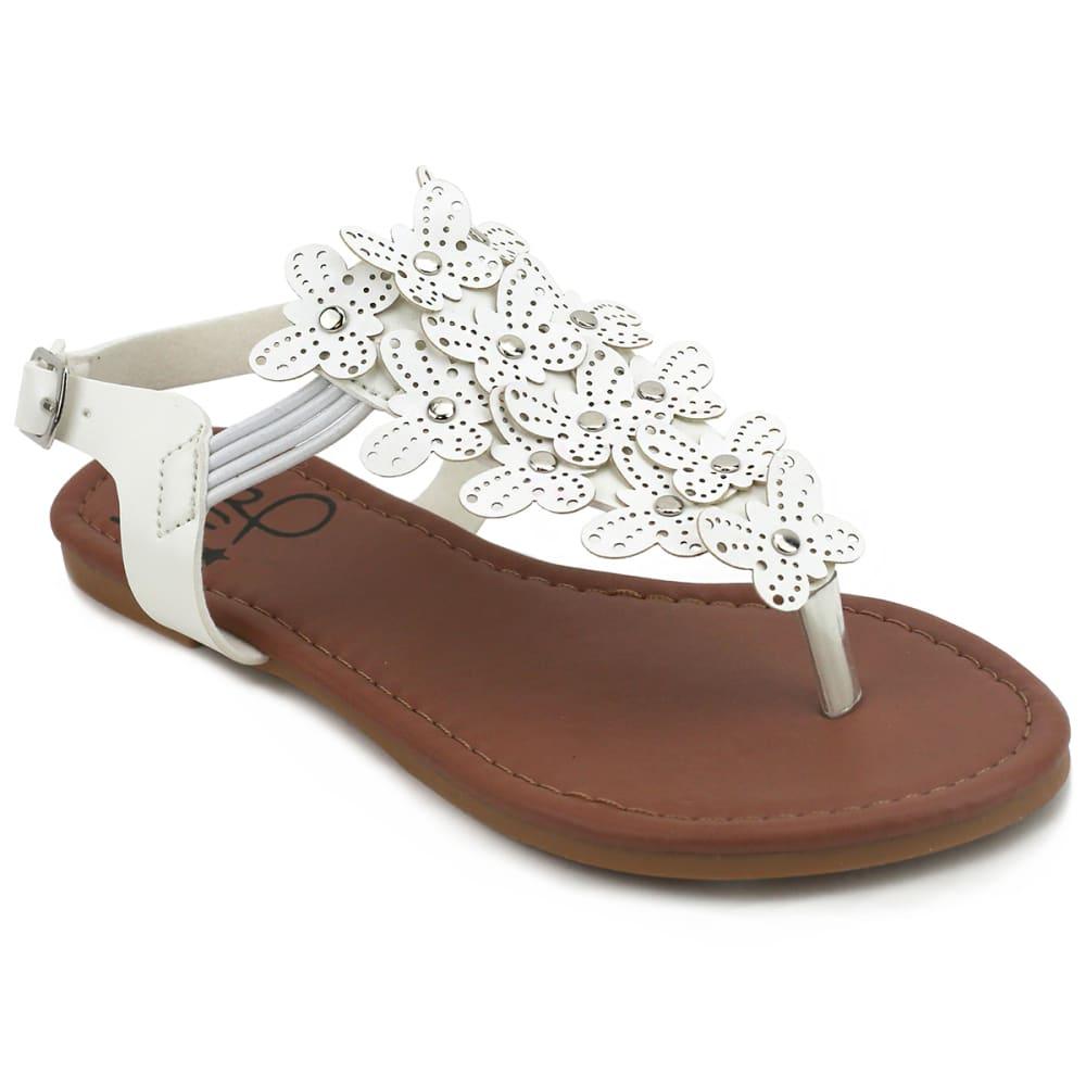 753bd0b8d2e753 OLIVIA MILLER Girls  Butterfly Flat Sandals