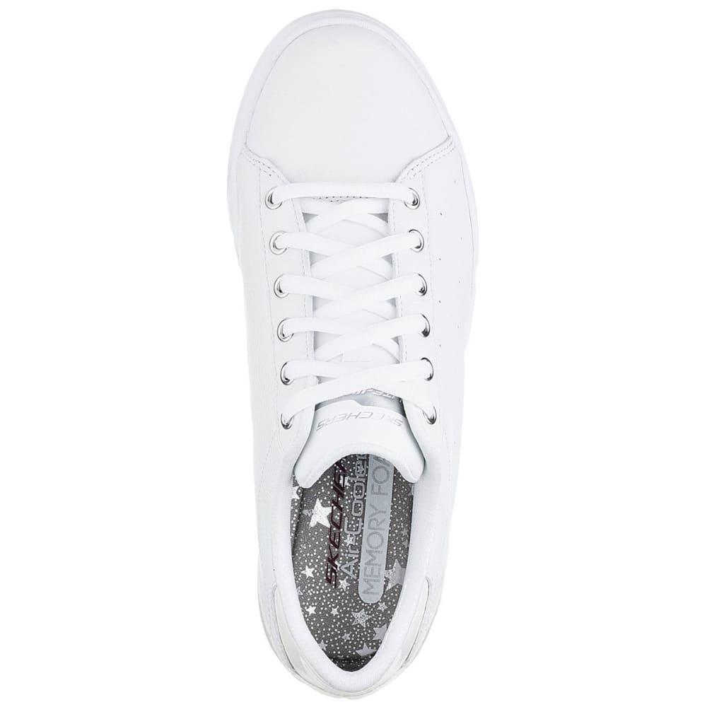 SKECHERS Women's Super Cup Sneakers, White - WHITE