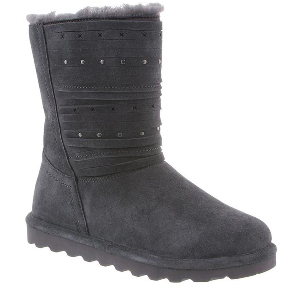 BEARPAW Women's Kennedy Boots - CHARCOAL