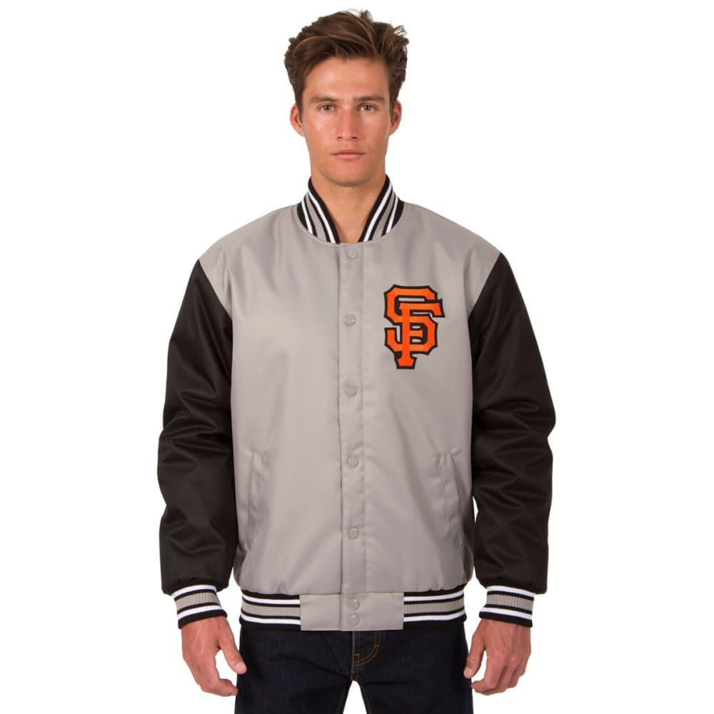SAN FRANCISCO GIANTS Men's Poly Twill Logo Jacket S