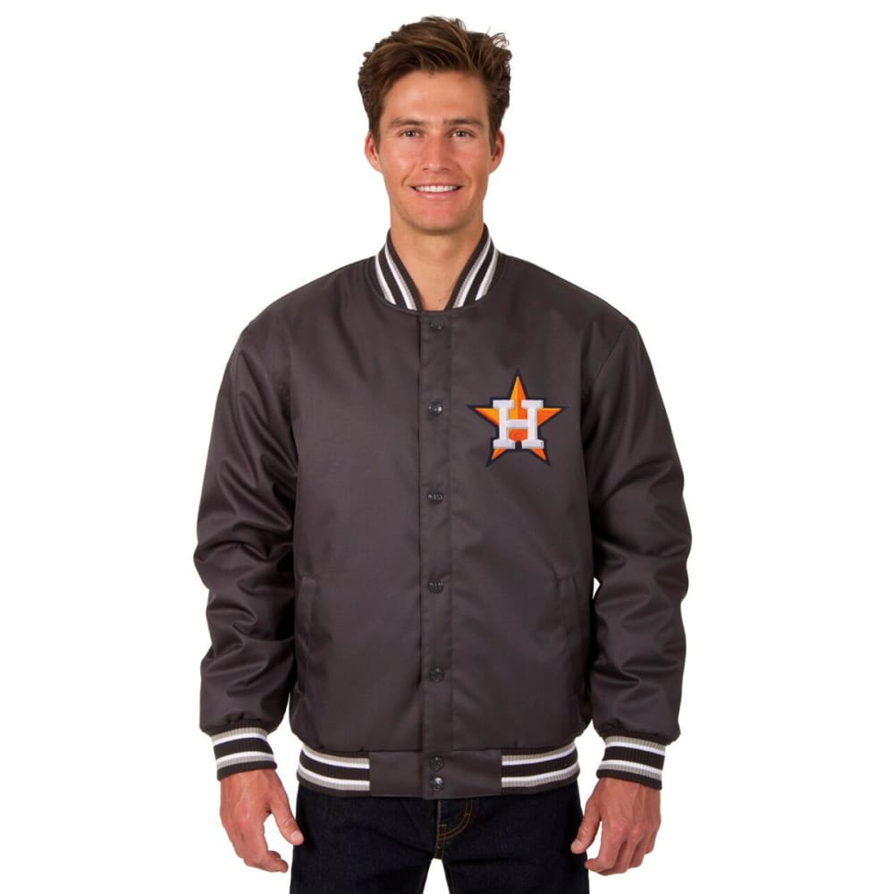 HOUSTON ASTROS Men's Poly Twill Embroidered Jacket S
