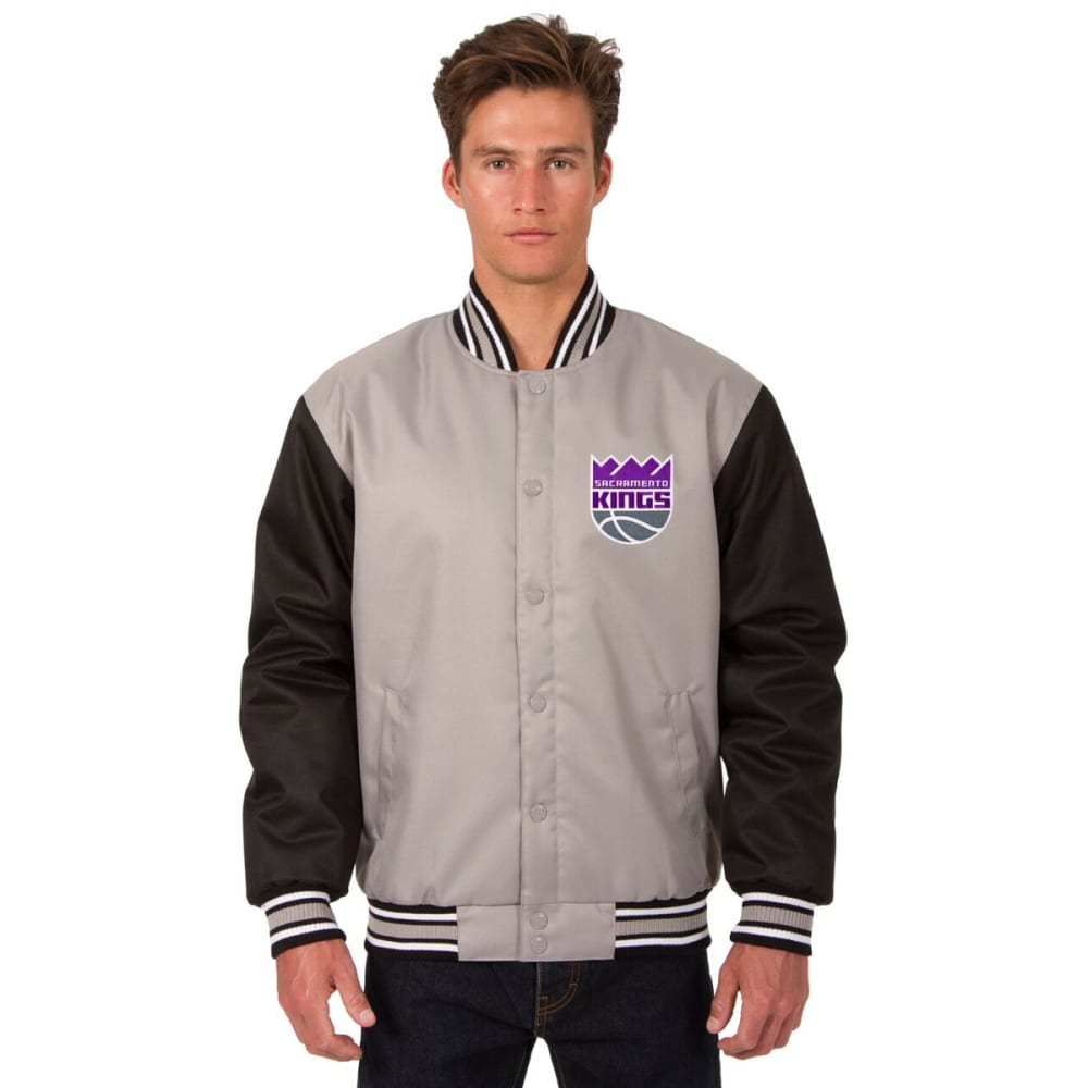 SACRAMENTO KINGS Men's Poly Twill Embroidered Jacket S