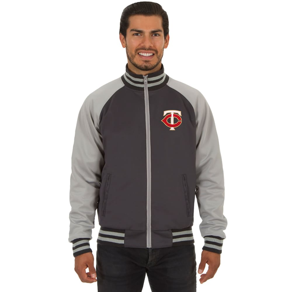 MINNESOTA TWINS Men's Reversible Embroidered Track Jacket S