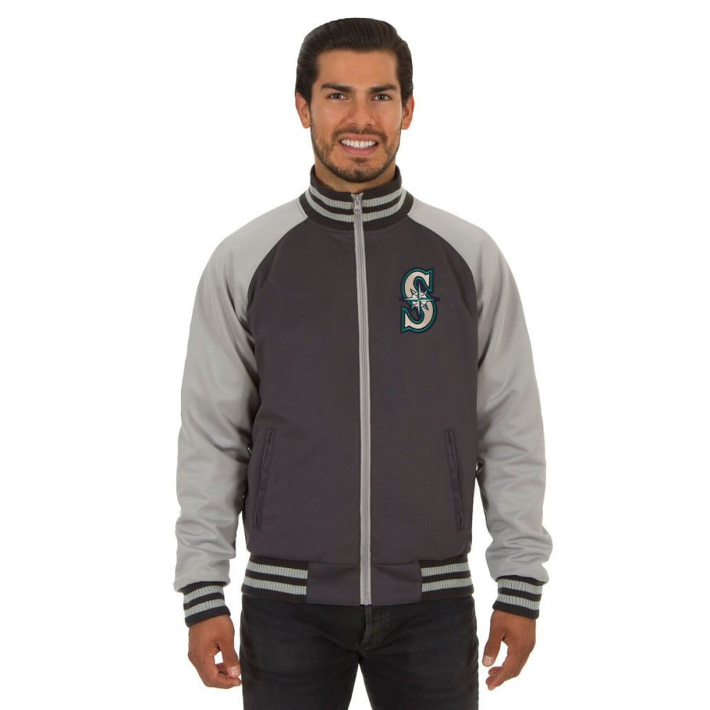 SEATTLES MARINERS Men's Reversible Embroidered Track Jacket S
