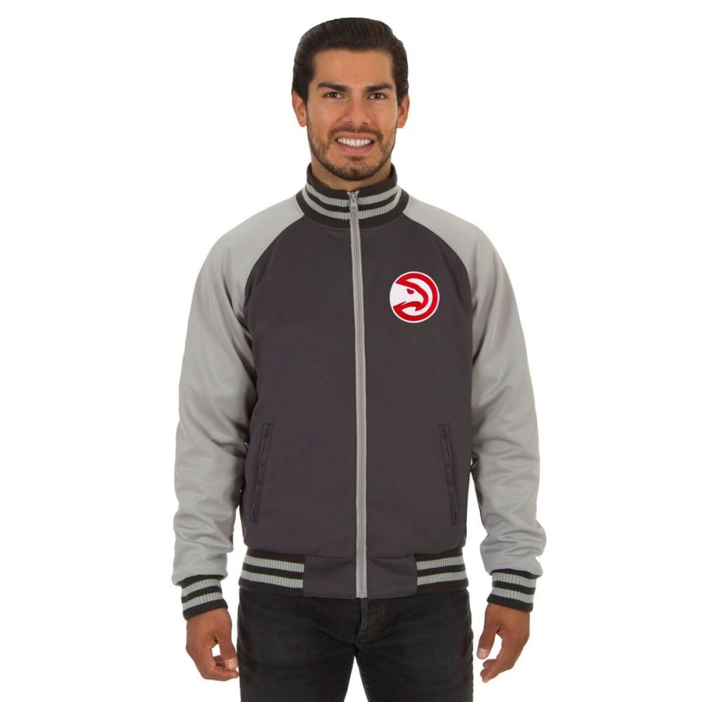 ATLANTA HAWKS Men's Reversible Embroidered Track Jacket S