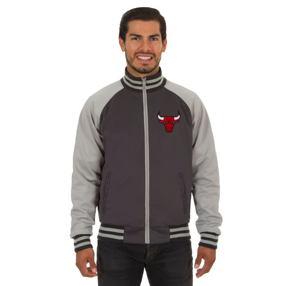 CHICAGO BULLS Men's Reversible Embroidered Track Jacket S