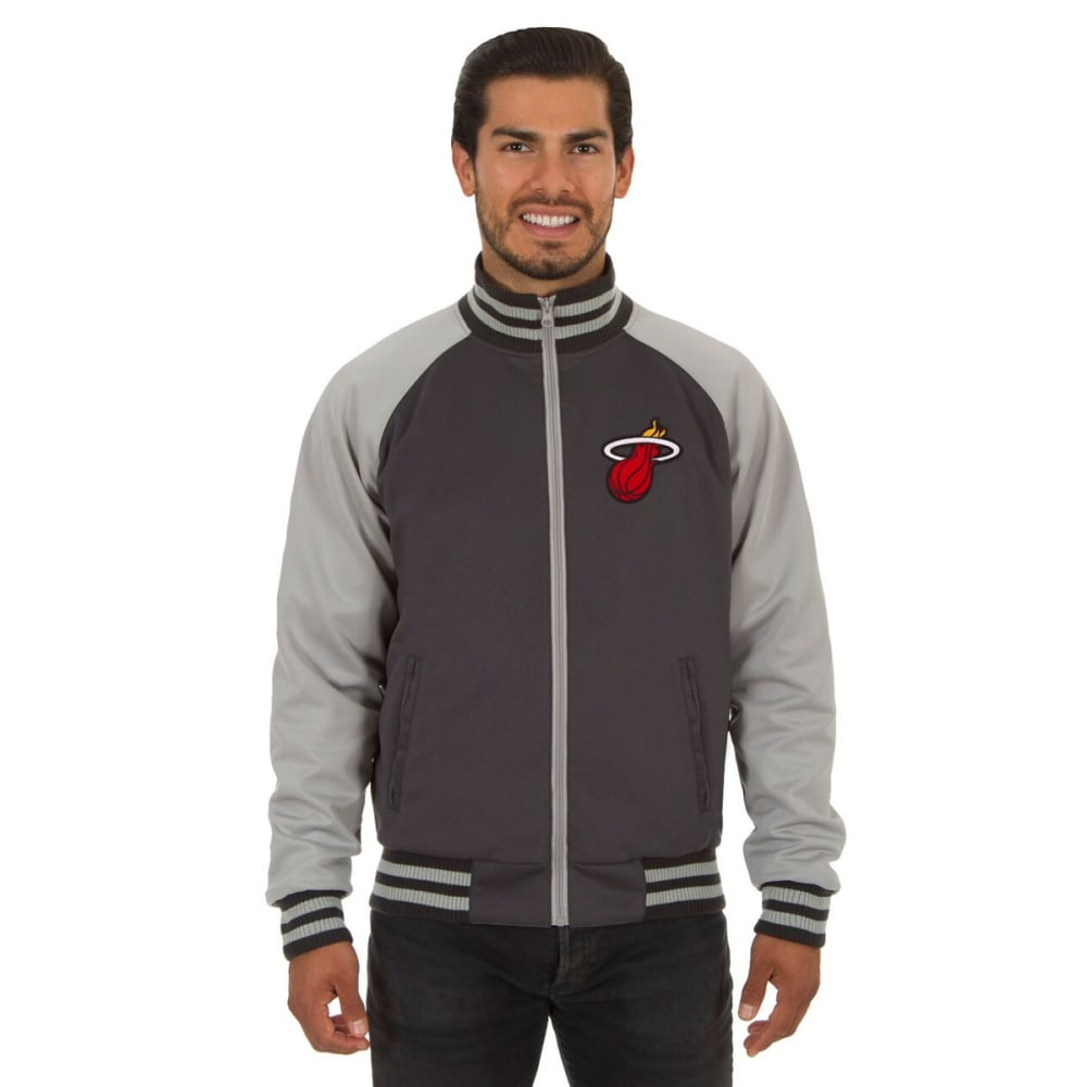 MIAMI HEAT Men's Reversible Embroidered Track Jacket S