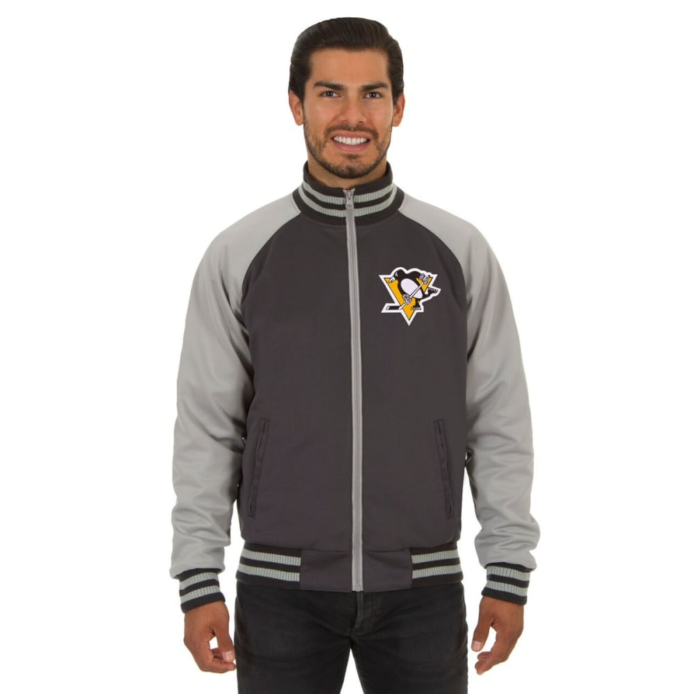 PITTSBURGH PENGUINS Men's Reversible Embroidered Track Jacket S