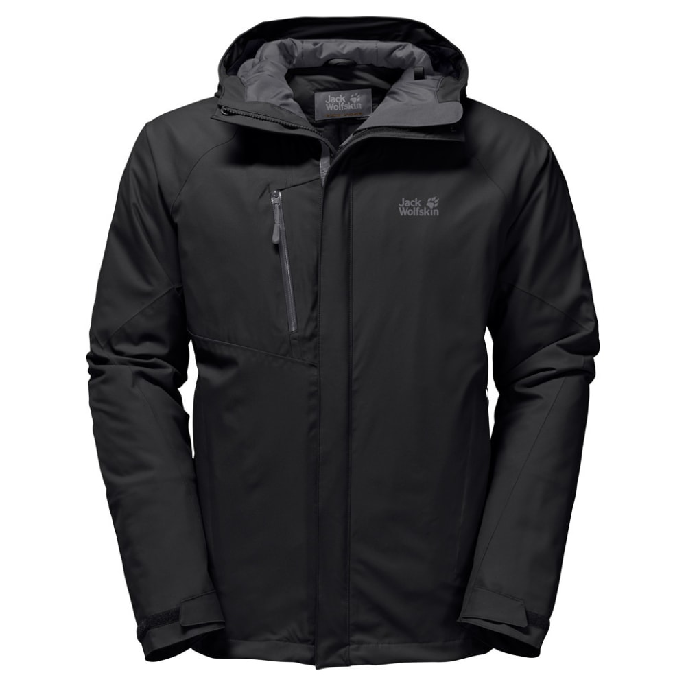 JACK WOLFSKIN Men's Troposphere Jacket - 6000 BLACK