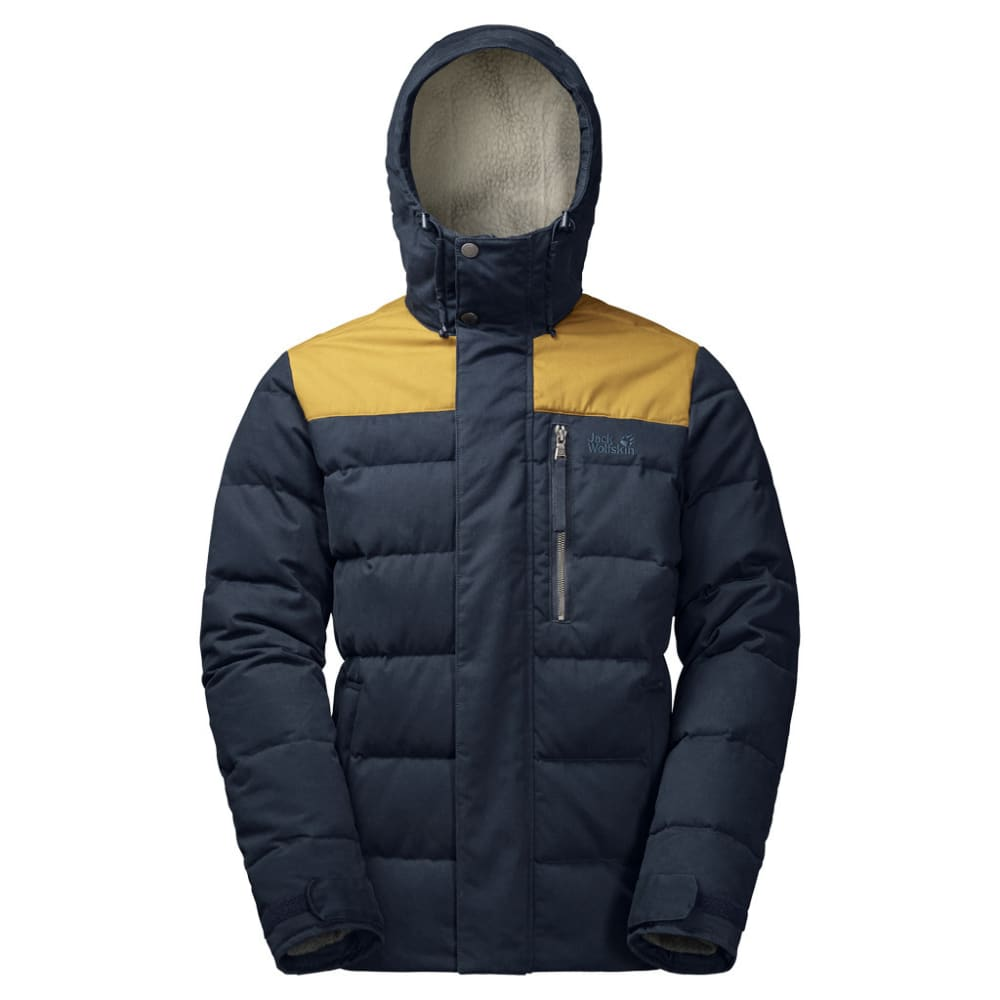 JACK WOLFSKIN Men's Lakota Jacket - 1010 NIGHT BLUE