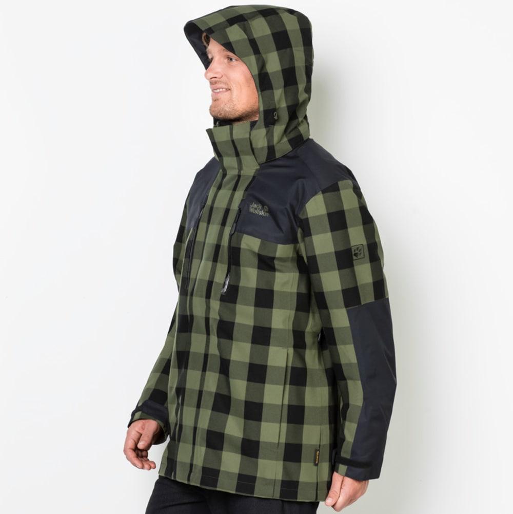 JACK WOLFSKIN Men's Timberwolf 3-in-1 Jacket - 7825 WOODLANDS GREEN