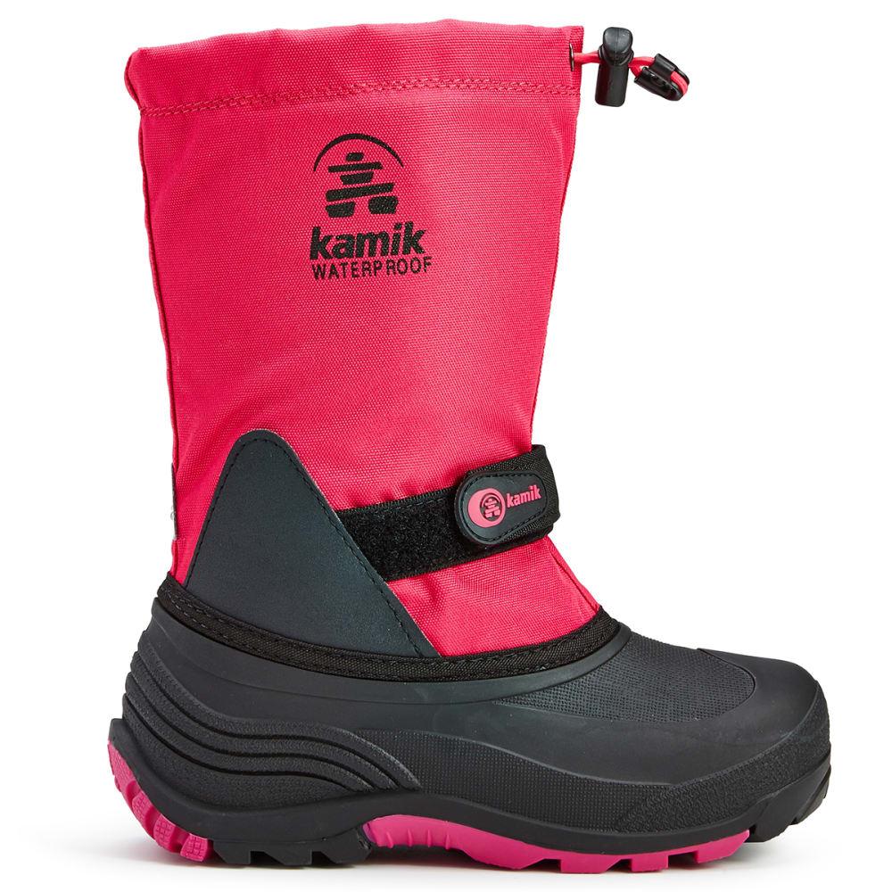 KAMIK Girls' Waterbug Waterproof Tall Storm Boots, Rose - ROSE