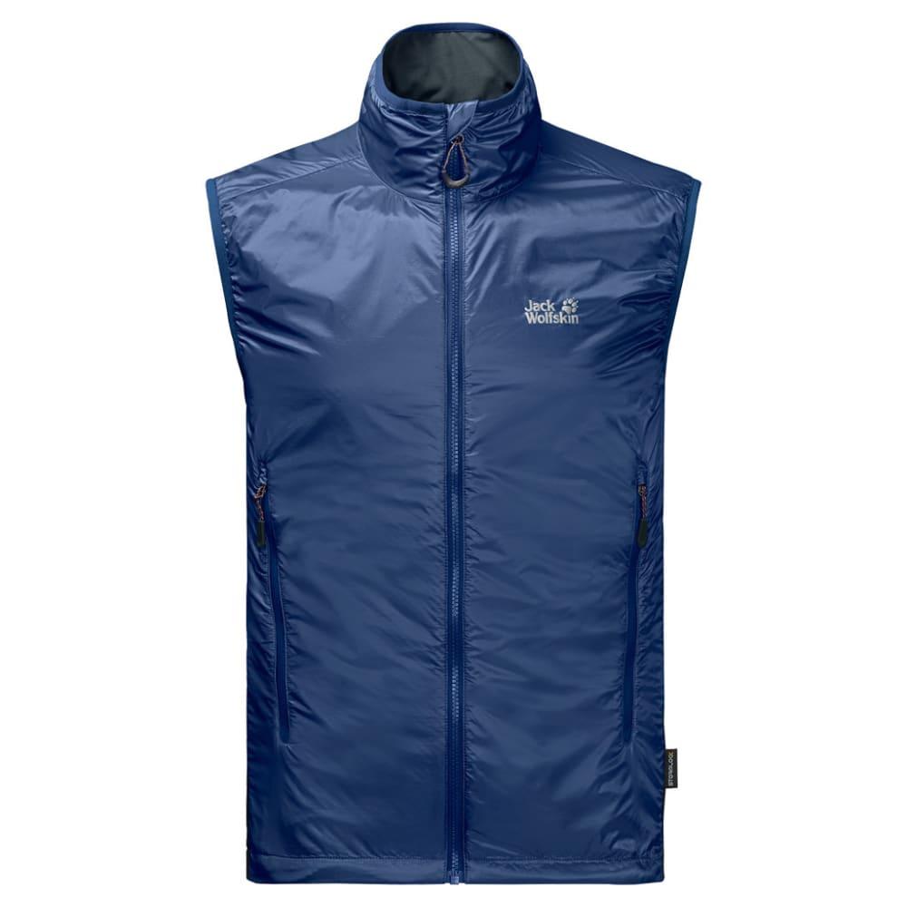 JACK WOLFSKIN Men's Air Lock Vest - 1505 ROYAL BLUE