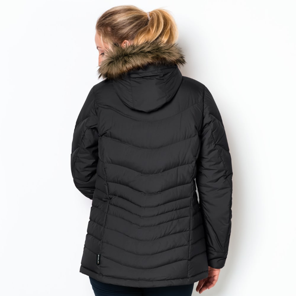 JACK WOLFSKIN Women's Selenium Bay Down Jacket - 6000 BLACK