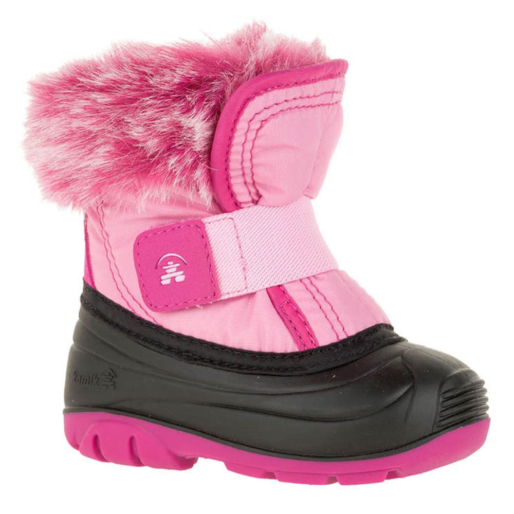 KAMIK Toddler Girls' Sugarplum Insulated Winter Boots - MAGENTA