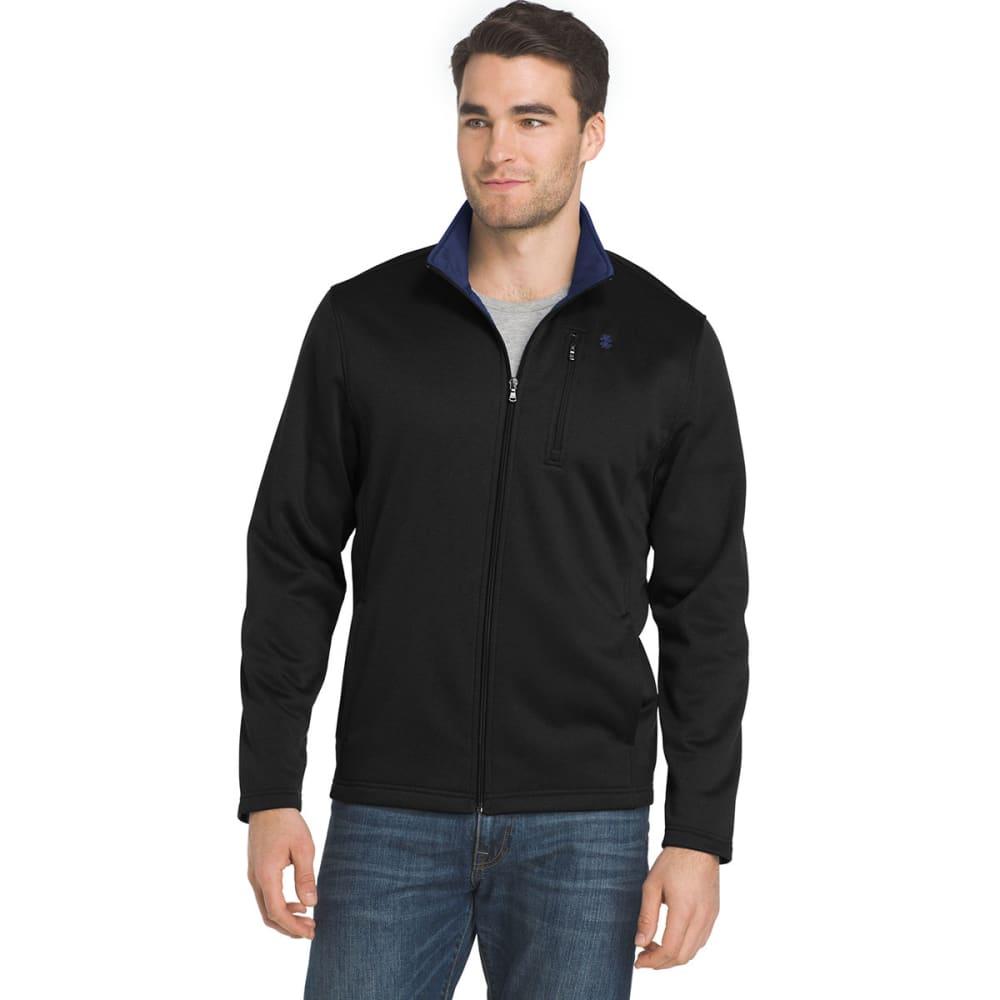 IZOD Men's Spectator Fleece Jacket - 001-BLACK