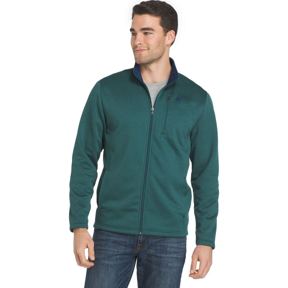 IZOD Men's Spectator Fleece Jacket - 312-JUNE BUG HTR