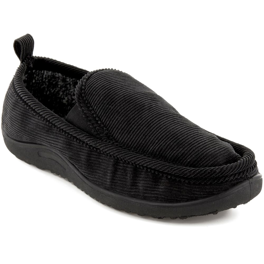 NORTHSIDE Men's Palmer Slippers, Black - BLACK
