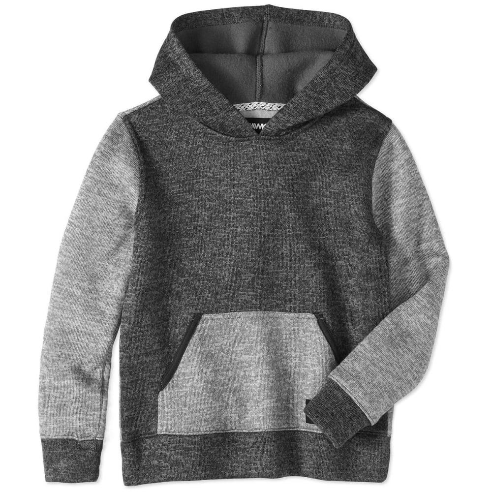 TONY HAWK Big Boys' Sweater Fleece Pullover Hoodie - 031-HEATHER GRY