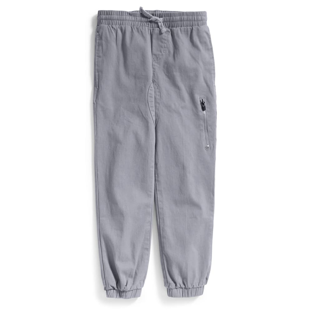 TONY HAWK Big Boys' Stretch Twill Jogger Pants - 072-MONUMENT