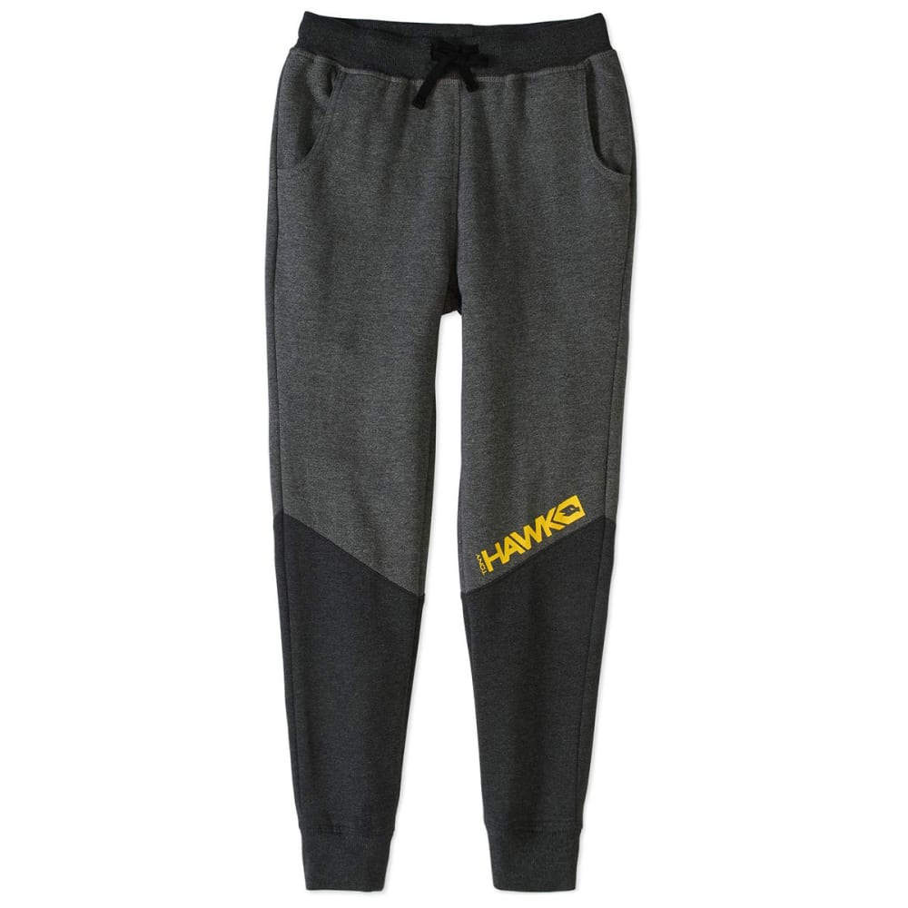 TONY HAWK Big Boys' French Terry Jogger Pants - 019-CHARCOAL