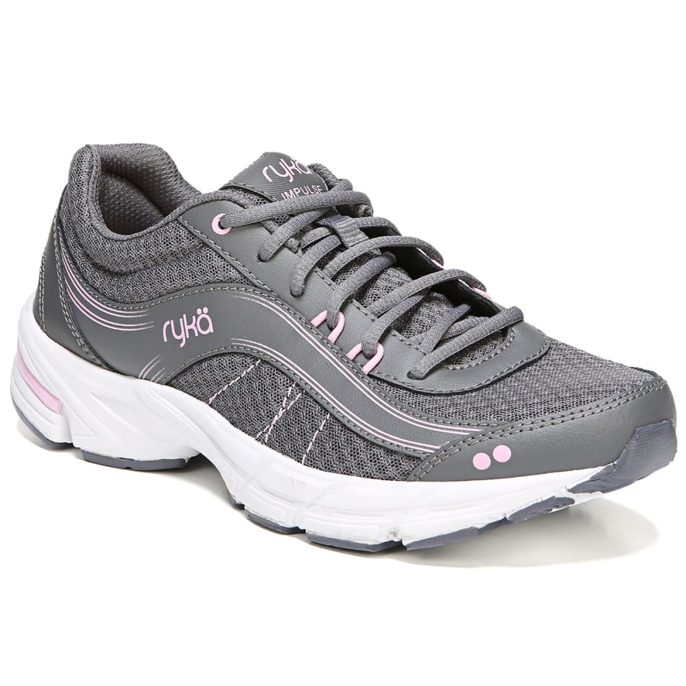 RYKA Women's Impulse Walking Shoes, Grey - GREY