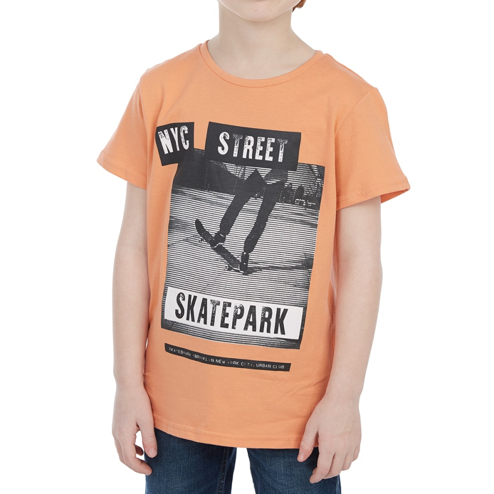 MINOTI Big Boys' Photographic Screen Short-Sleeve Tee - BBS37-SKATE PARK