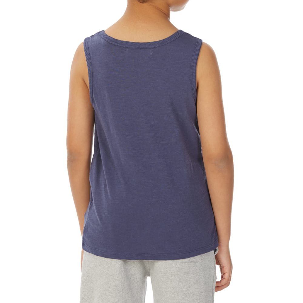 MINOTI Big Boys' Basic Slub Tank Top - BBS14-NAVY