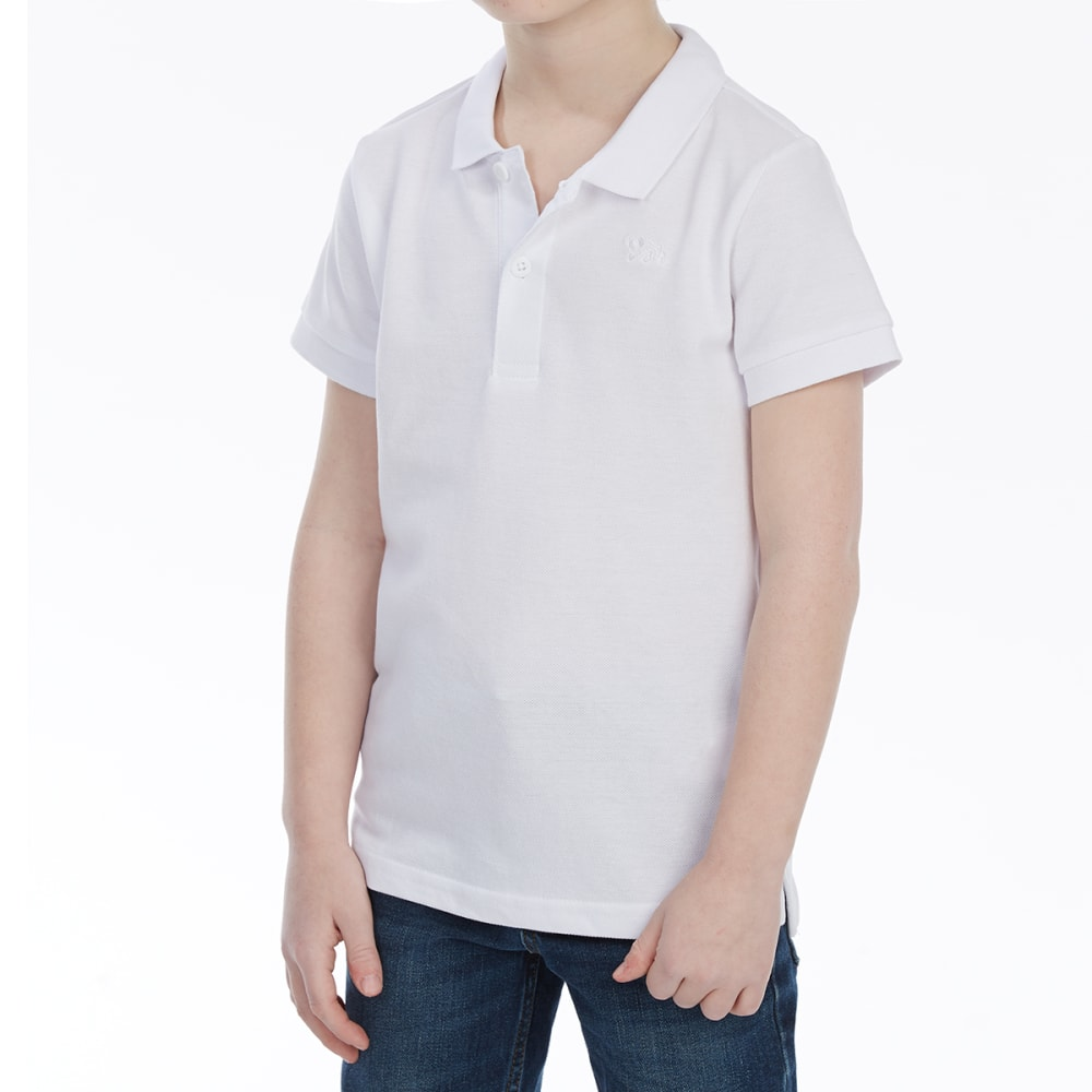 MINOTI Big Boys' Basic Pique Short-Sleeve Polo Shirt 4-5