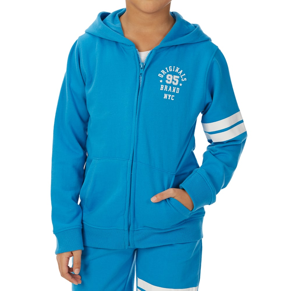 MINOTI Big Boys' Fleece Hoodie 10/11