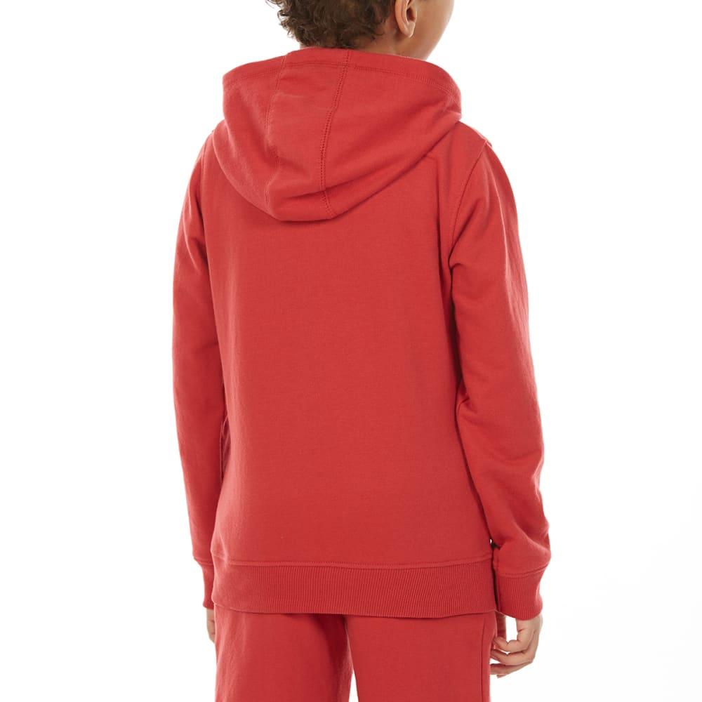MINOTI Big Boys' Fleece Hoodie - BBS86-LA WASHED RED