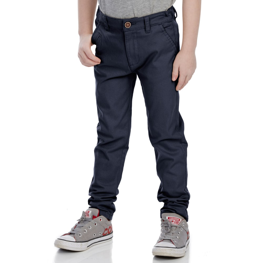 Minoti Big Boys' Chino Pants - Blue, 3-4