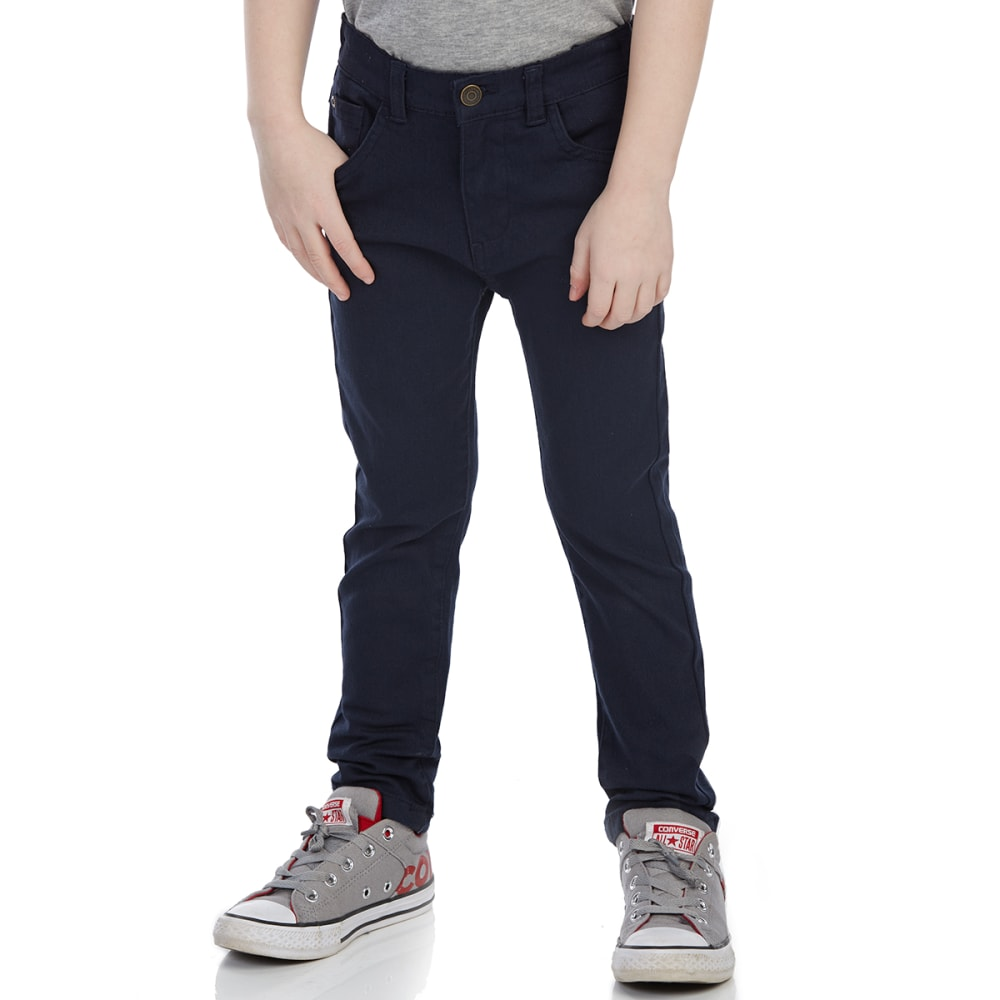 MINOTI Big Boys' Slub Twill Pants - BBS29-NAVY