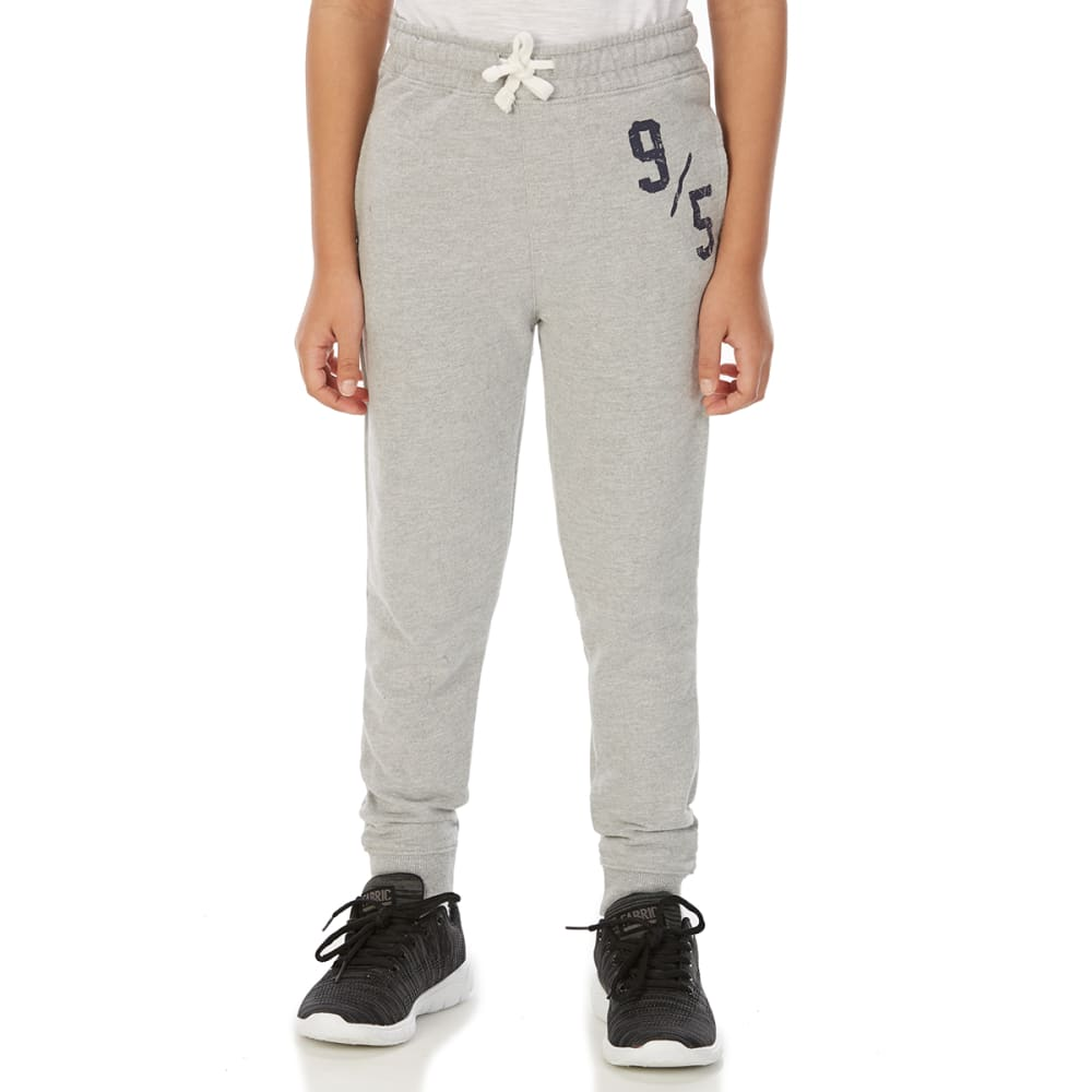 MINOTI Big Boys' Fleece Jogger Pants - BBS88-9/5 GREY MARL