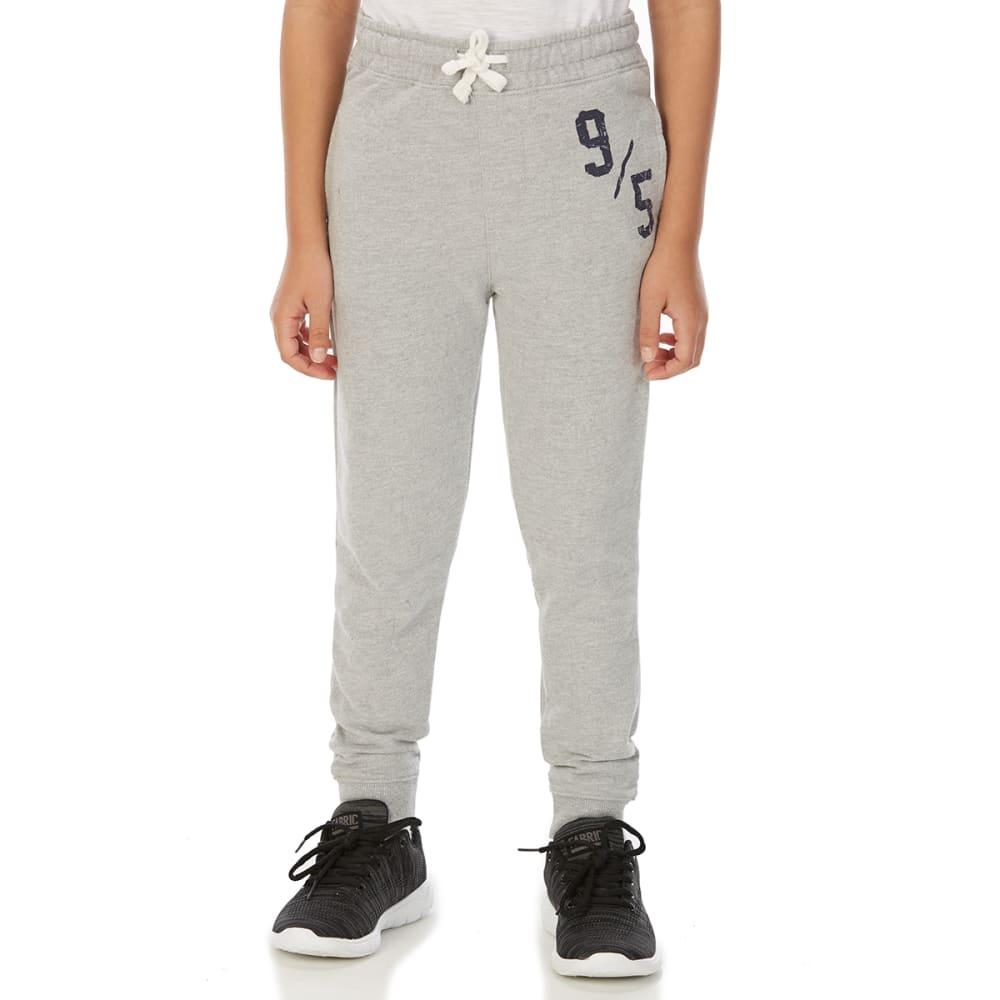 MINOTI Big Boys' Fleece Jogger Pants - BBS88-9/5 GREY MARL