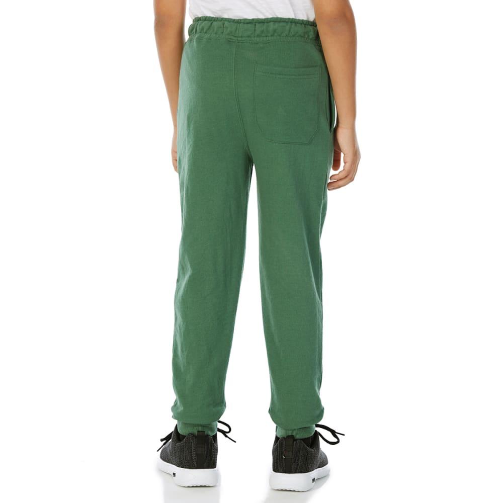 MINOTI Big Boys' Fleece Jogger Pants - BBS92-EASTSIDE GREEN