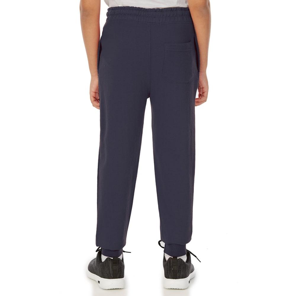 MINOTI Big Boys' Fleece Jogger Pants - BBS89-ESTD 95 NAVY