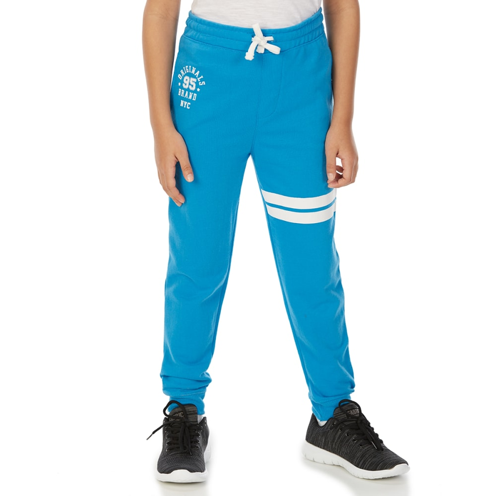 MINOTI Big Boys' Fleece Jogger Pants - BBS90-NYC BLUE