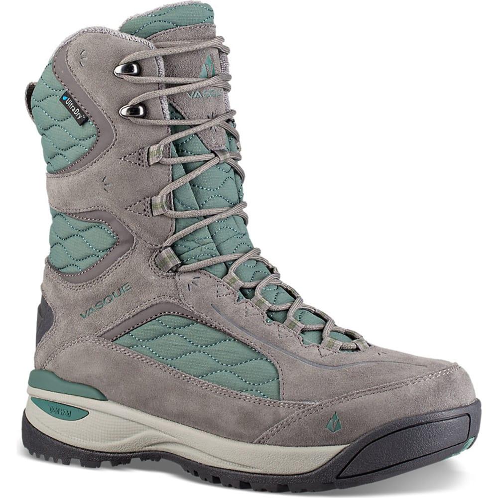 VASQUE Women's Pow Pow III Ultradry Winter Boots - GREY/SILVER PINE
