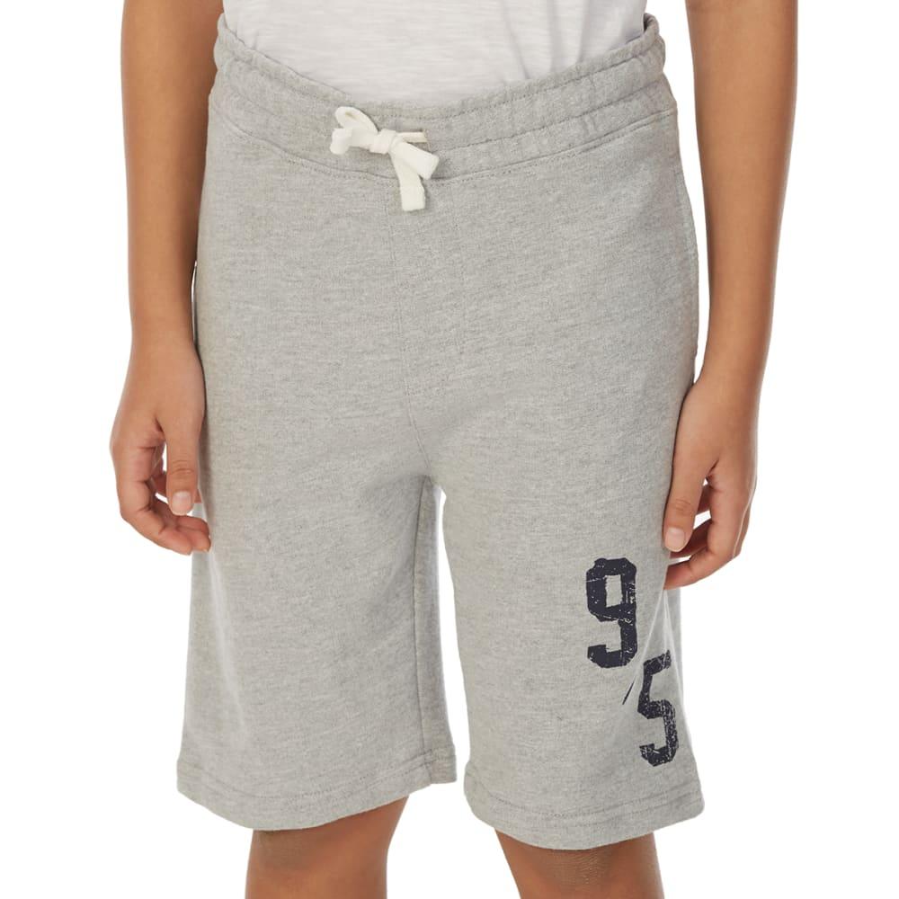 Minoti Big Boys' Fleece Shorts - Black, 4-5