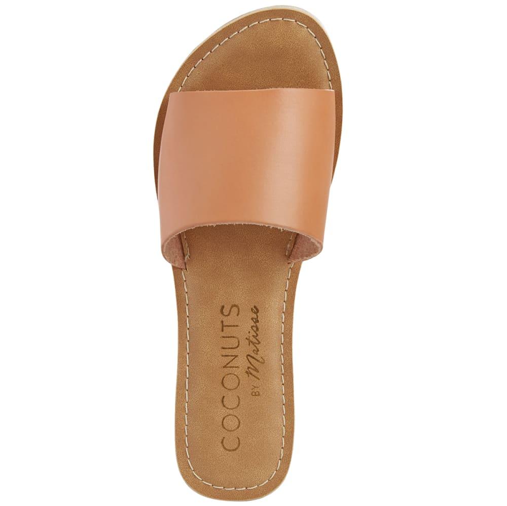 COCONUTS BY MATISSE Women's Cabana Slide Sandals - NUDE