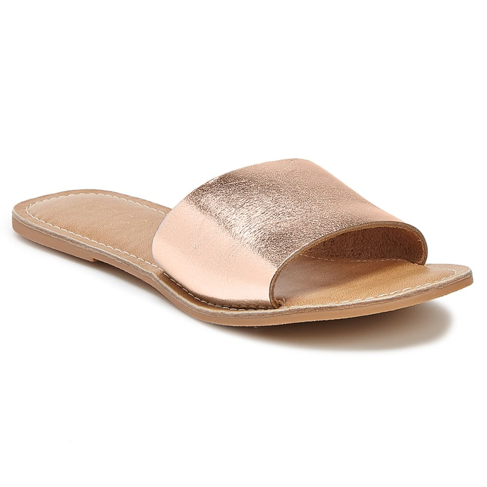 COCONUTS BY MATISSE Women's Cabana Slide Sandals - GOLD