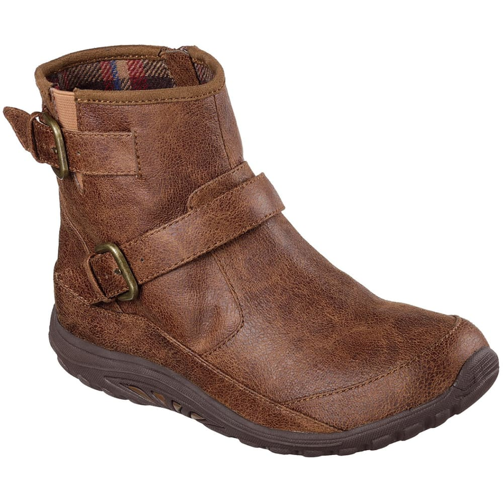 SKECHERS Women's Relaxed Fit: Reggae Fest - Urban Dread Low Boots, Brown - BROWN